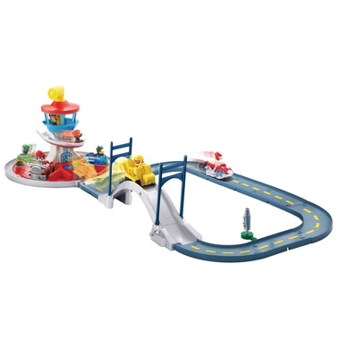 Paw Patrol Launch n\' Roll Lookout Tower Track Set