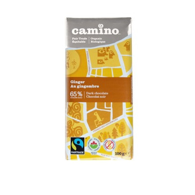 Camino Ginger Dark Chocolate Bar
