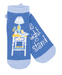 Little Blue House Women's Ankle Socks One Night Stand