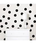 WallPops Matte Black Confetti Dots