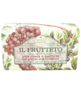 Nesti Dante Il Frutteto Red Grapes and Blueberry Soap