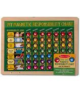 Melissa & Doug Magnetic Responsibility Chore Chart