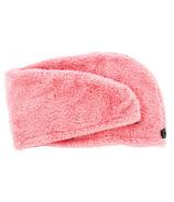 Studio Dry Turban Hair Towel Coral