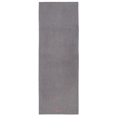 Gaiam Grippy Yoga Mat Towel Grey & Pink