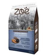 Zoe Medium Breed Dog Food Chicken, Quinoa and Black Bean