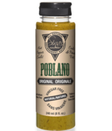 Sinai Gourmet Poblano Original Hot Pepper Coulis
