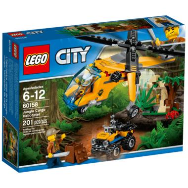 LEGO City Jungle Cargo Helicopter