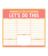 Knock Knock Let's Do This Pen-to-Paper Mousepad