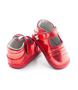 Jack & Lily My Shoes Ruby Red Metallic Mary Jane