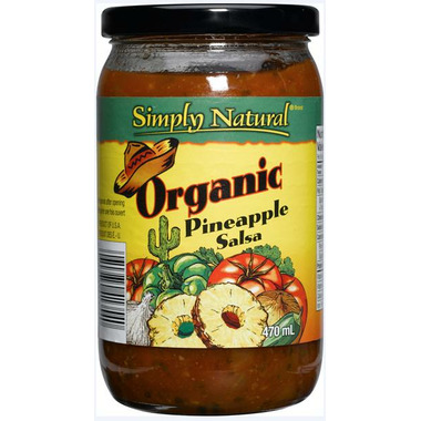Simply Natural Organic Pineapple Salsa