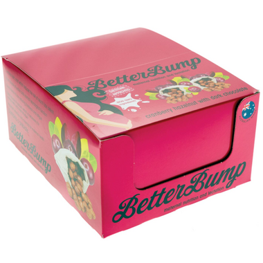 BetterBump Cranberry & Hazelnut with Dark Chocolate Bars