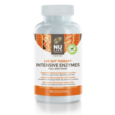 Nu Life Therapeutics LGS Gut Therapy Intensive Enzymes