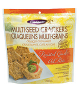 Crunchmaster Gluten Free Multi-Seed Crackers Roasted Garlic