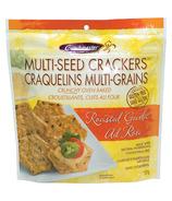 Crunchmaster Gluten Free Multi-Seed Crackers Roasted Garlic