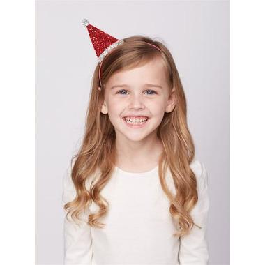 Mud Pie Christmas Dazzle Headband Santa Hat