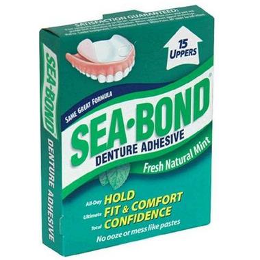 Sea Bond Denture Adhesive Fresh Mint