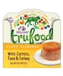 Wellness TruFood Wet Cat Food Tasty Pairings with Carrots, Tuna & Turkey