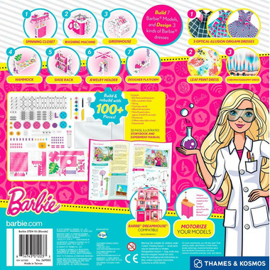 Thames & Kosmos Signature Series Barbie STEM Kit