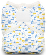 Thirsties Duo Wrap Hook & Loop Diaper School of Fish