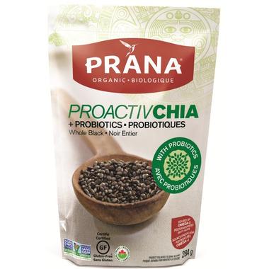 PRANA Proactive Organic Whole Black Chia Seeds