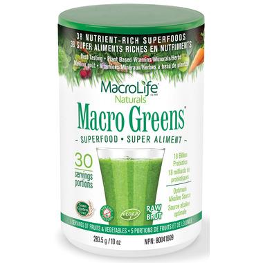 MacroLife Naturals Macro Greens Nutrient Rich Superfood