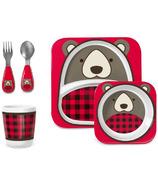 Skip Hop Zoo Winter Mealtime Gift Set Bear