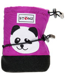 Stonz Purple Panda Infant Booties