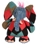 Hugglehounds Chubbie Buddies Squeaky Large Elephant Dog Toy