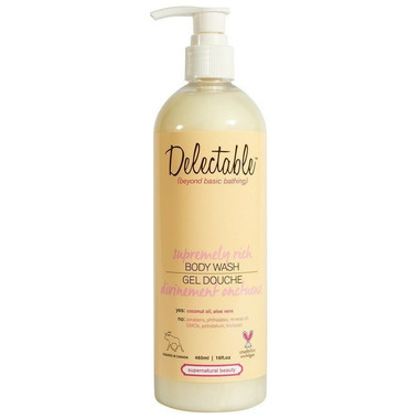Delectable by Cake Beauty Supremely Rich Body Wash Lemon & Cream