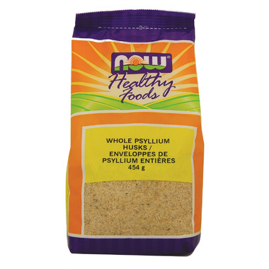 NOW Real Food Whole Psyllium Husks