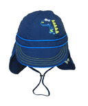 Calikids Quick-Dry Cap With Long Back Navy