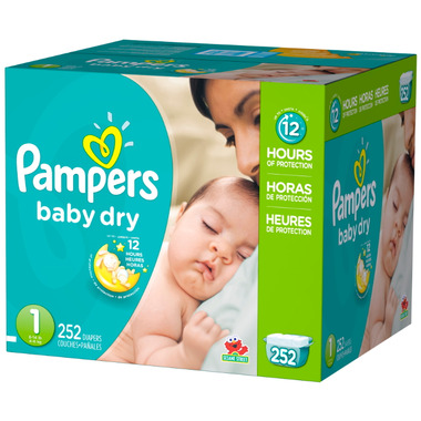 Pampers Baby Dry Economy Plus Pack