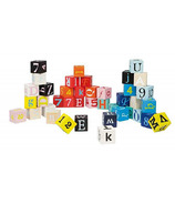 Janod Kubix Letters & Numbers Blocks