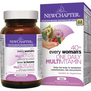New Chapter 40+ Every Woman\'s One Daily Multivitamin