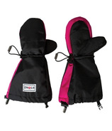 Stonz Black With Accented Pink Youth Mittz