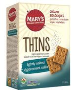 Mary's Organic Lightly Salted Sea Salt Cracker Thin's
