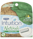 Schick Intuition Naturals Sensitive Care Razor Refills