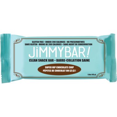 JimmyBars Super Hip Chocolate Chip
