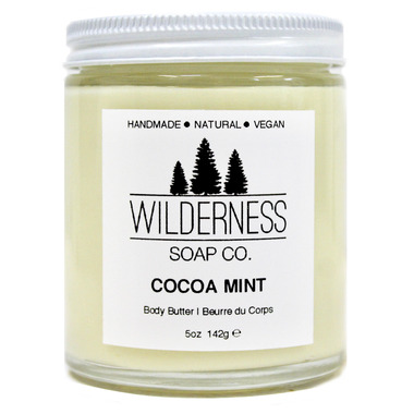 Wilderness Soap Co. Cocoa Mint Body Butter