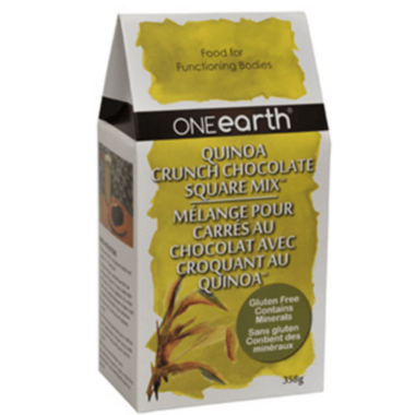 ONEearth Quinoa Crunch Chocolate Square Mix