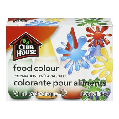 Club House Food Colour Preparation