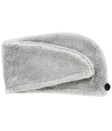 Studio Dry Turban Hair Towel Grey