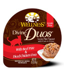 Wellness Divine Duos Beef Pate & Diced Chicken Liver
