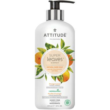 ATTITUDE Super Leaves Natural Hand Soap Orange Leaves