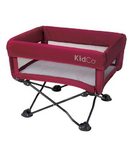 KidCo DreamPod Portable Crib in Cranberry