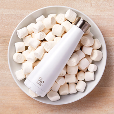 S\'ip x S\'well Water Bottle Marshmellow White