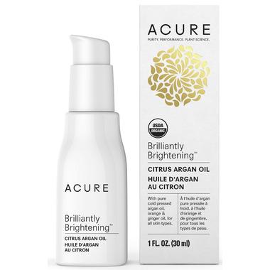 Acure Brilliantly Brightening Citrus Argan Oil