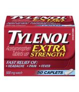 Tylenol Extra Strength Caplets