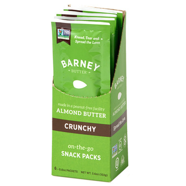 Barney Butter Crunchy Almond Butter Single Serving Pack