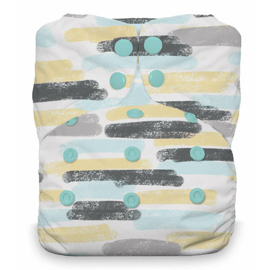Thirsties Snap Natural One Size All-in-One Diaper Dreamscape